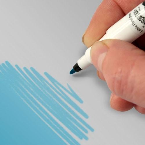 Food Art Pen spiselig tusj - Himmelblå