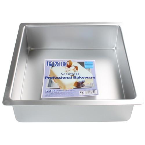 PME Dyp Firkantet kakeform -40x40x7.5cm-