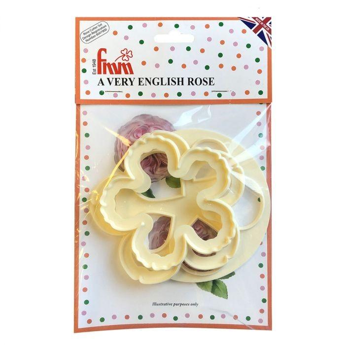 FMM Utstikker A Very English Rose Cutter