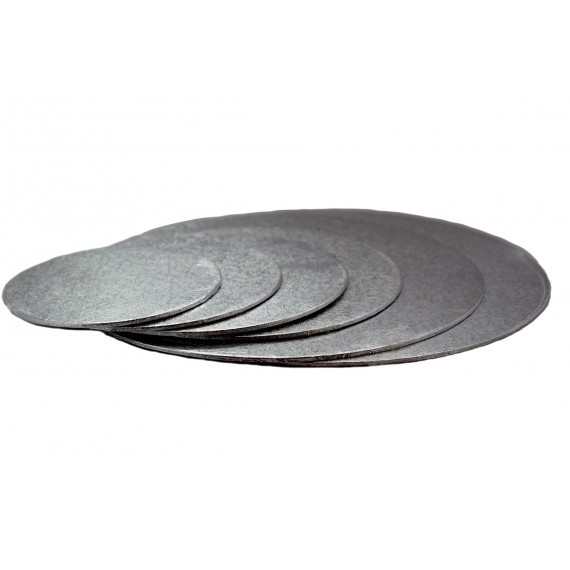 Kakebrett Rund Sølv 15cm