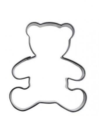 Pepperkakeform bamse - 6 cm