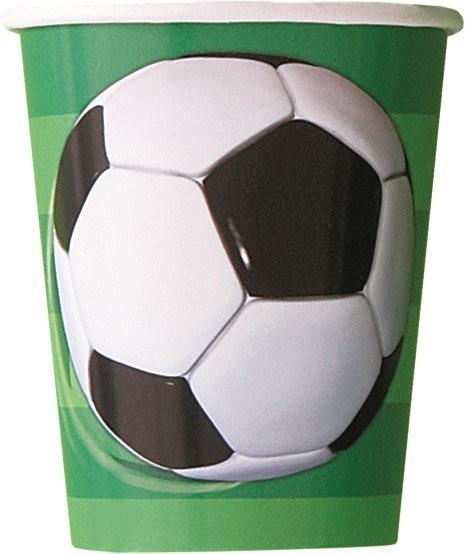 Fotball kopper, 8 stk