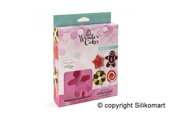 Silikomart Lollipop form -Kakemann- med pinner