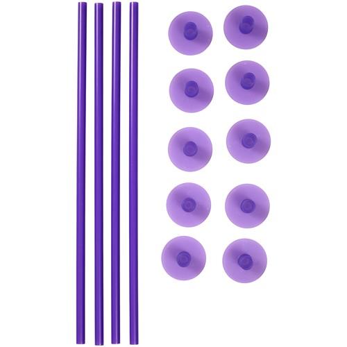 Wilton Støttestaver i plast med føtter pk/14