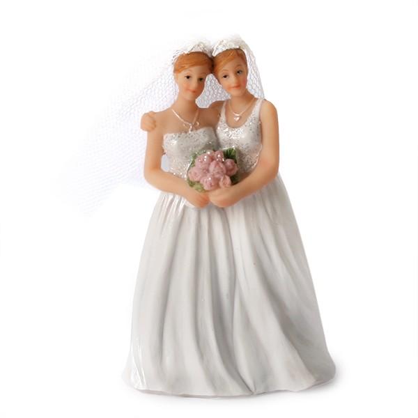 Brudepar Damer, 11 cm