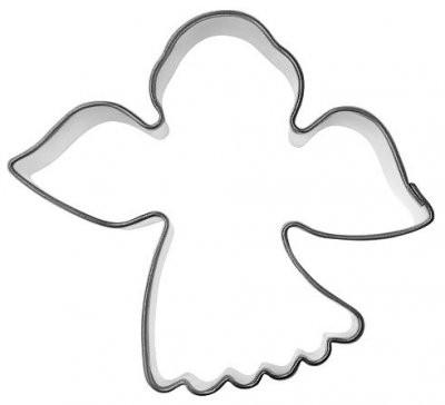 Pepperkakeform engel 2 - 6,5 cm