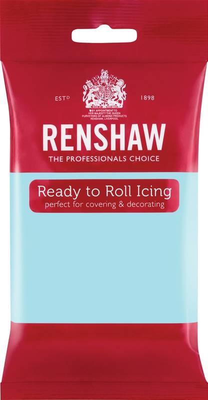 Lyseblå fondant fra Renshaw, 250g