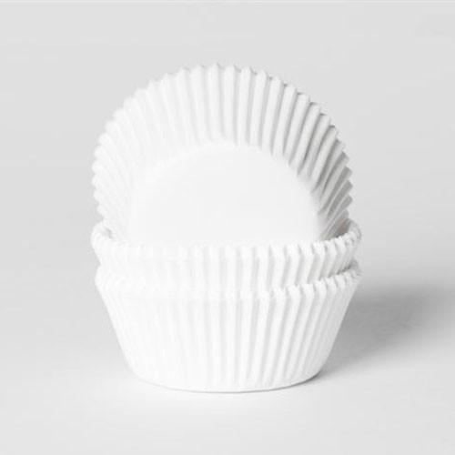 House of Marie Muffinsformer Hvit – Mini - pk/50