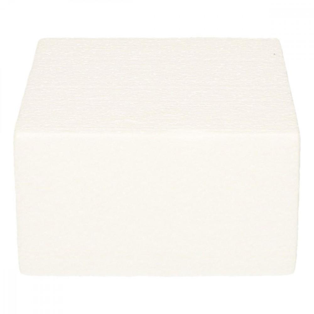 Kake Dummy Firkant 7cm høy, 12,5x12,5cm
