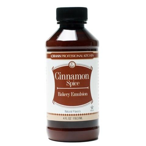 LorAnn Smakstilsetning Emulsjon Cinnamon Spice, 118ml