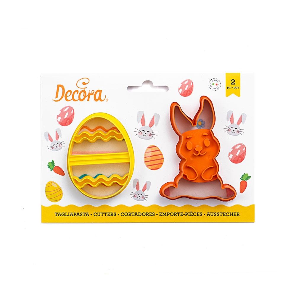 Decora Utstikkere - Egg og Hare