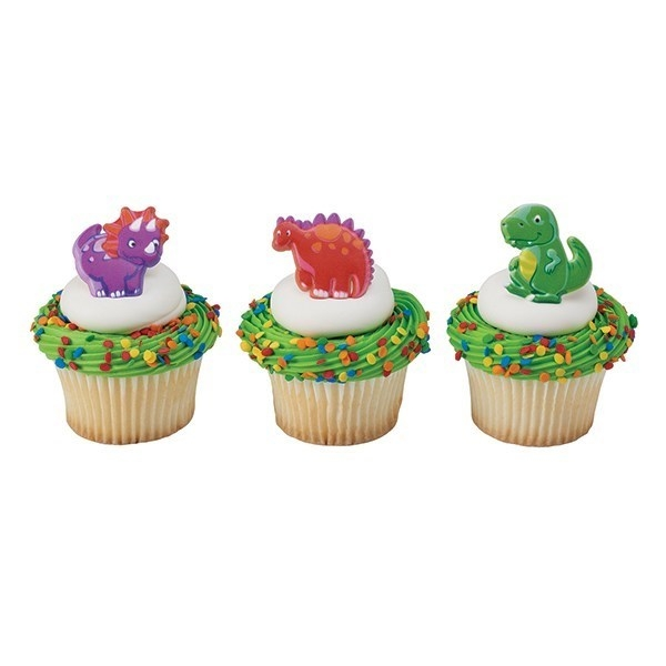 Dekorasjon Til Cupcake - Dinosaur pk/144