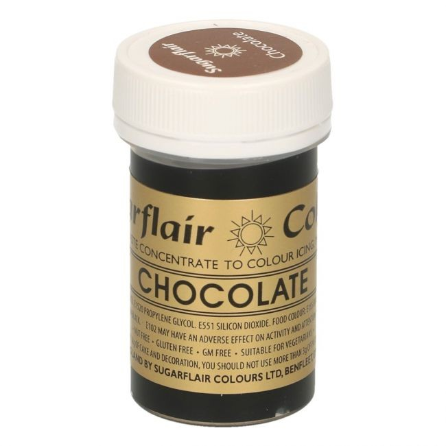 Sugarflair pastafarge Chocolate, 25g