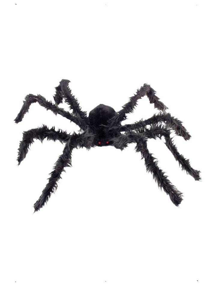 Dekor, Hårete edderkopp med lysende øyne