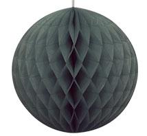 Dekorball, svart, 20,32cm
