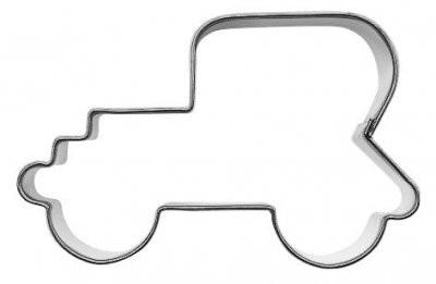 Pepperkakeform veteranbil - 7 cm