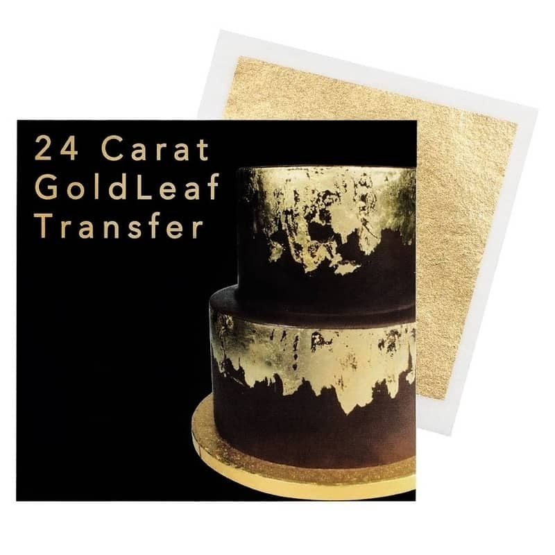 Sugarflair 24 karat Leaf Transfer - Gull