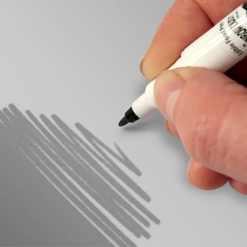 Food Art Pen spiselig tusj - Sølvgrå