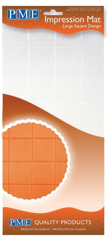 Mønstermatte, store kvadrater