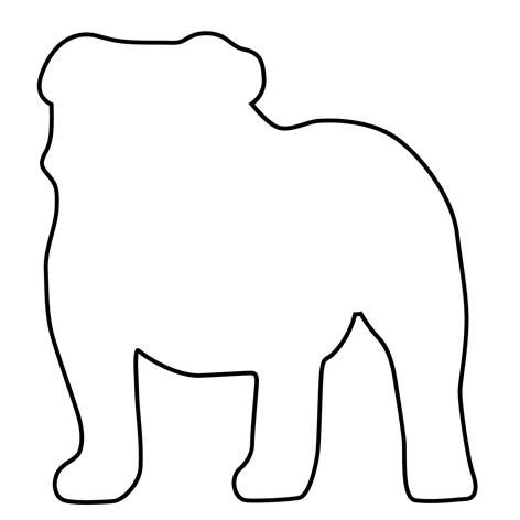 Pepperkakeform Engelsk bulldog – 7,5cm