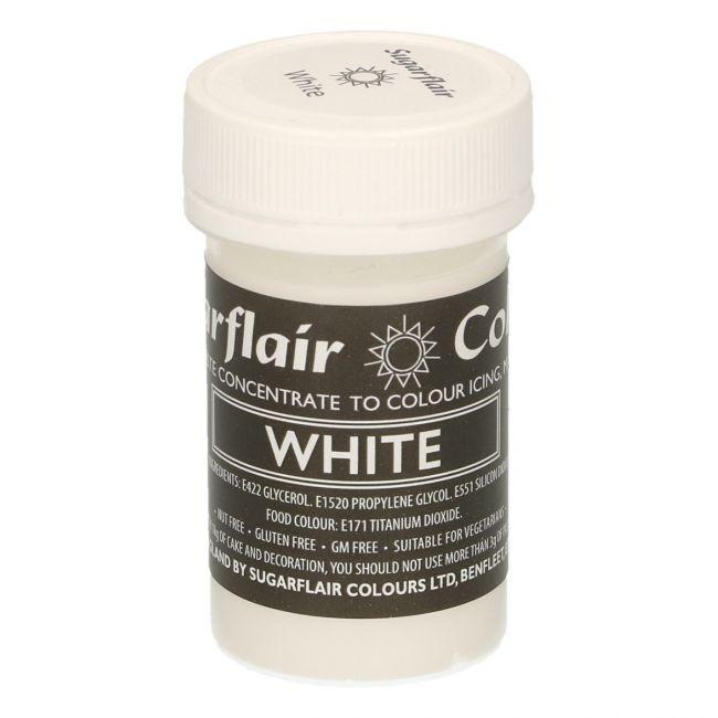 Sugarflair pastafarge White, 25g