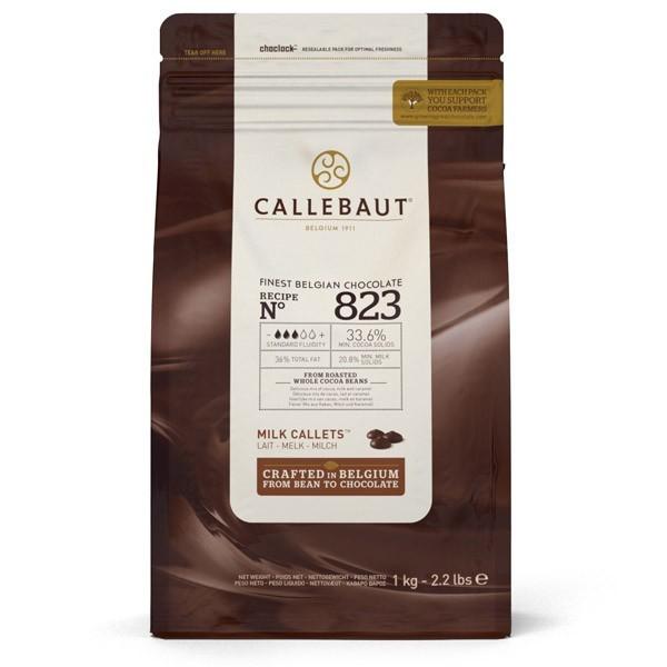 Callebaut lys sjokolade - 1kg