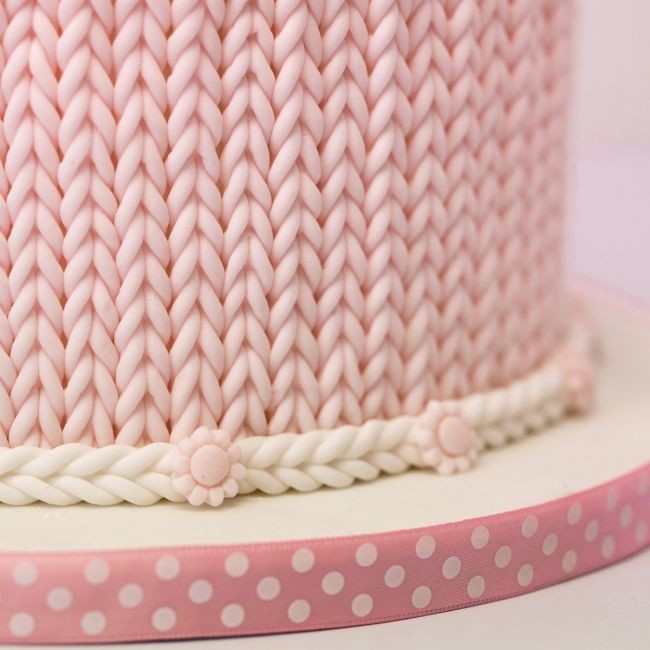 Karen Davies silikonform Grovt strikkemønster