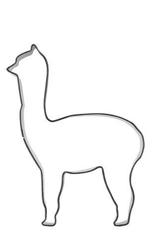 Pepperkakeform Alpakka  – 8cm