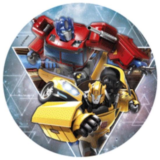 Kakebilde -wafer- Transformers 20cm -nr4