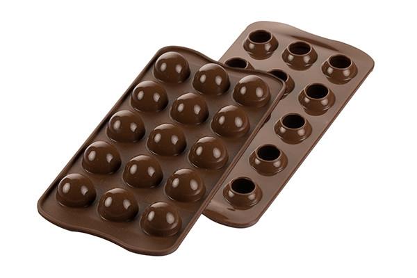 Silikomart konfektform, Kuler