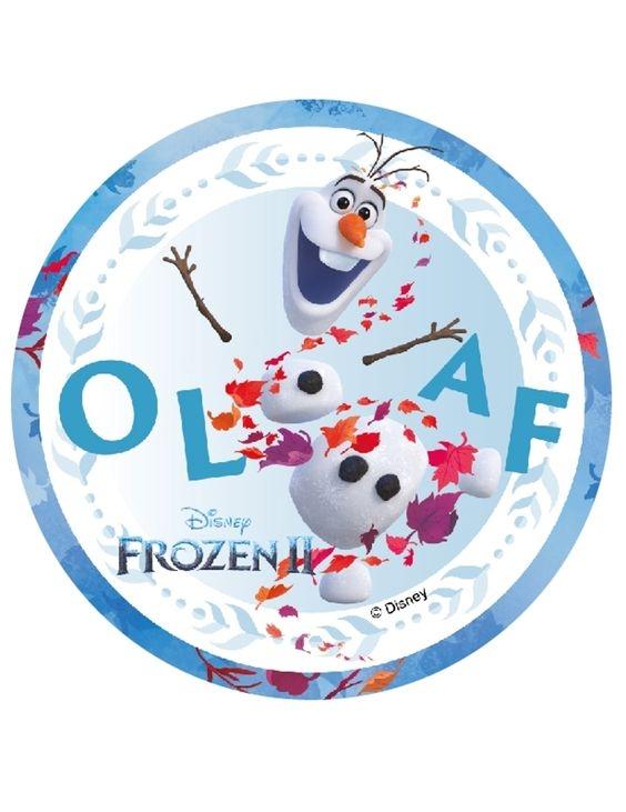 Kakebilde Disney´s Frost 2 -14cm- Olaf