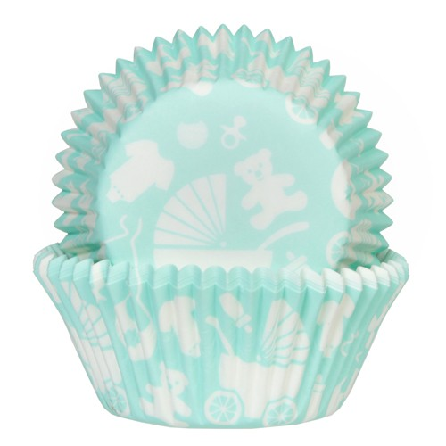 House of Marie Muffinsformer Baby Mint pk/50