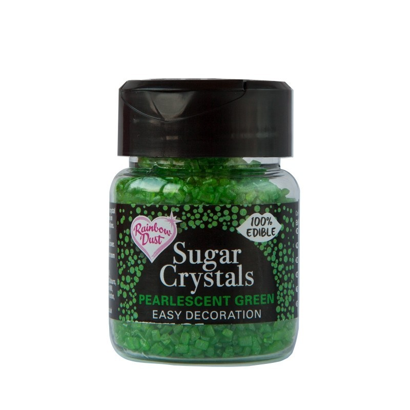 RD Sparkling Sugar Crystals - Pearlescent Green