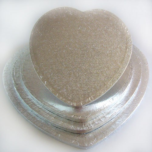 Kake-drum Hjerte 33cm