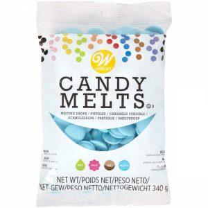 Candy Melts Blå 340g