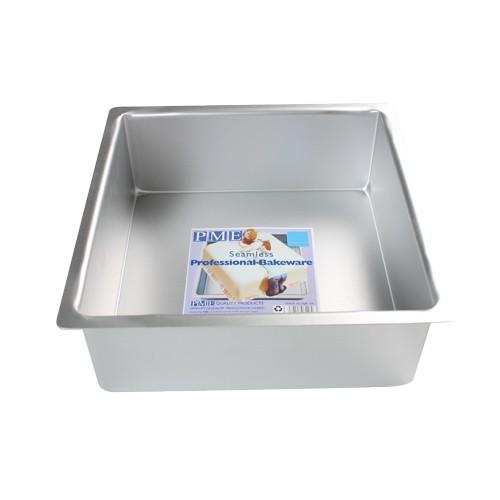 PME Ekstra dyp Firkantet kakeform -15x15x10cm-