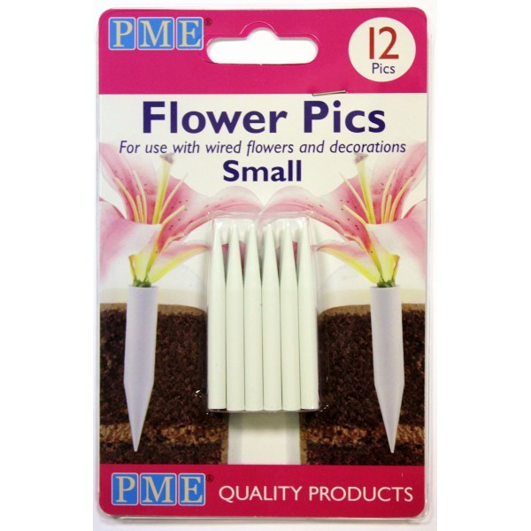 Flower Pics Small, 12pc
