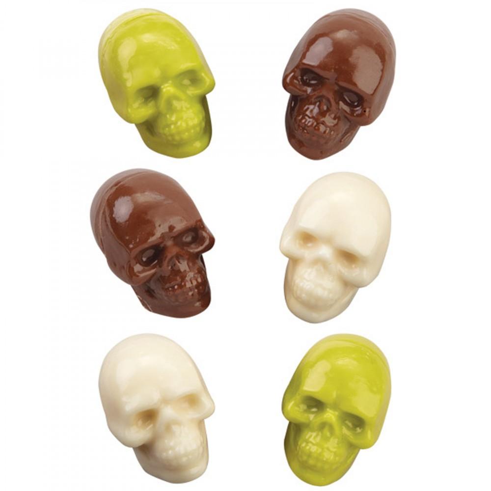Konfektform 3D hodeskaller