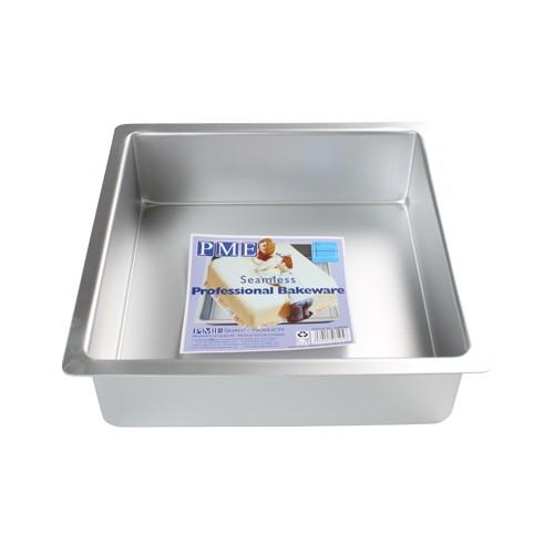 PME Dyp Firkantet kakeform -10x10x7.5cm-