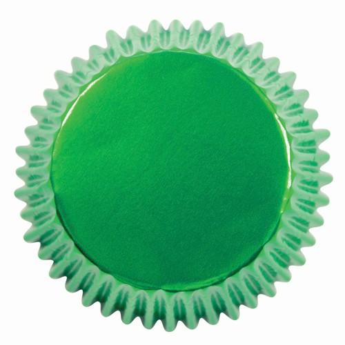 PME Muffinsformer Metallic Grønn pk/30