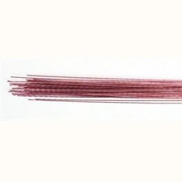 Blomsterwire Mørk rosa 50stk 0,50mm 24 gauge