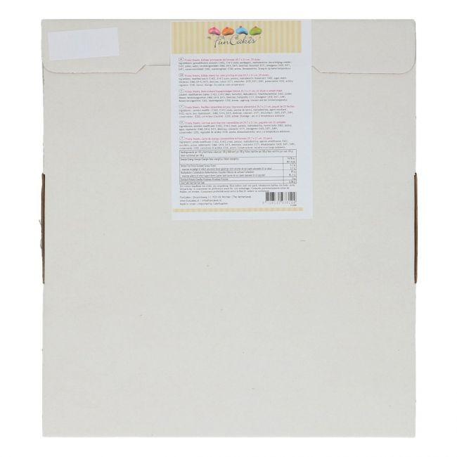 FunCakes Rispapir spiselig papir -A4- 25 stk