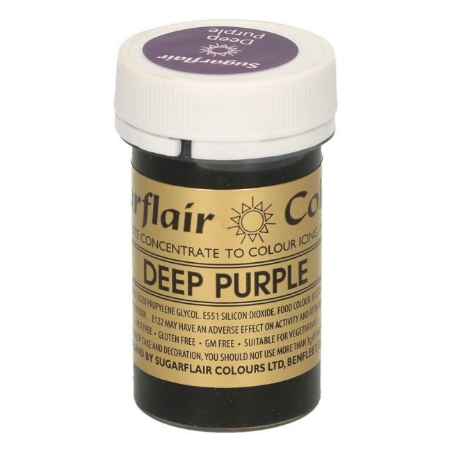 Sugarflair pastafarge Deep Purple, 25g