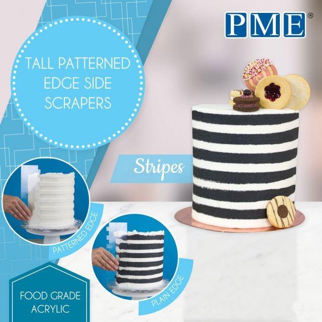 PME lang mønsterskrape -Striper-