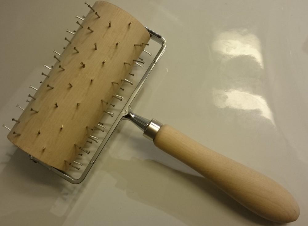 Bakerulle med håndtak - tagger