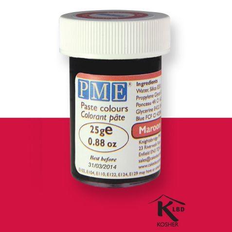PME pastafarge Plomme-rød