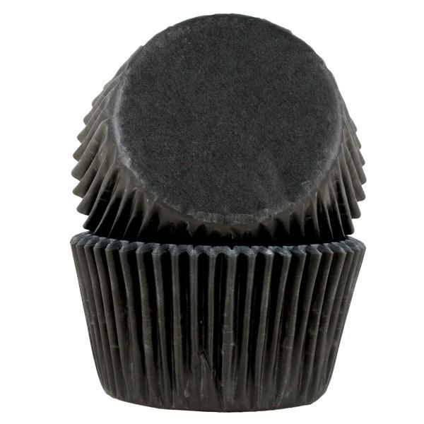 Muffinsform Sort jumbo, 30 stk
