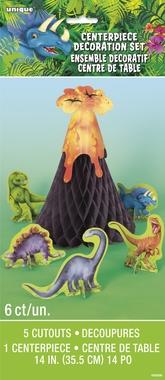 Bordpynt Dinosaur 6 deler