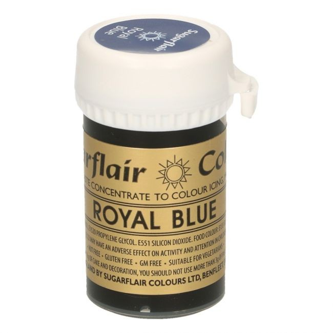 Sugarflair pastafarge Royal Blue, 25g