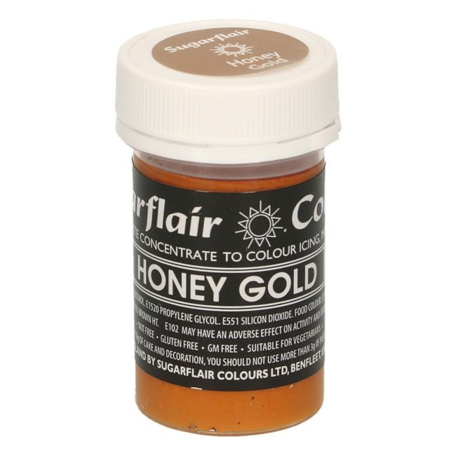 Sugarflair pastafarge Honey Gold, 25g